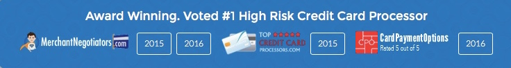 #1 High Risk Credit Card Processor