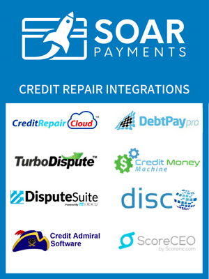 Credit Repair Merchant Account CRM Integrations