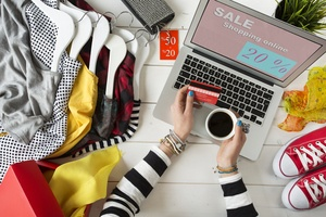 Credit card processing for clothing and apparel businesses